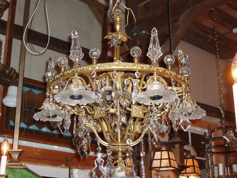 Chandeliers old lights on farmington ct buying selling and amazing brass and crystal chandelier aloadofball Choice Image